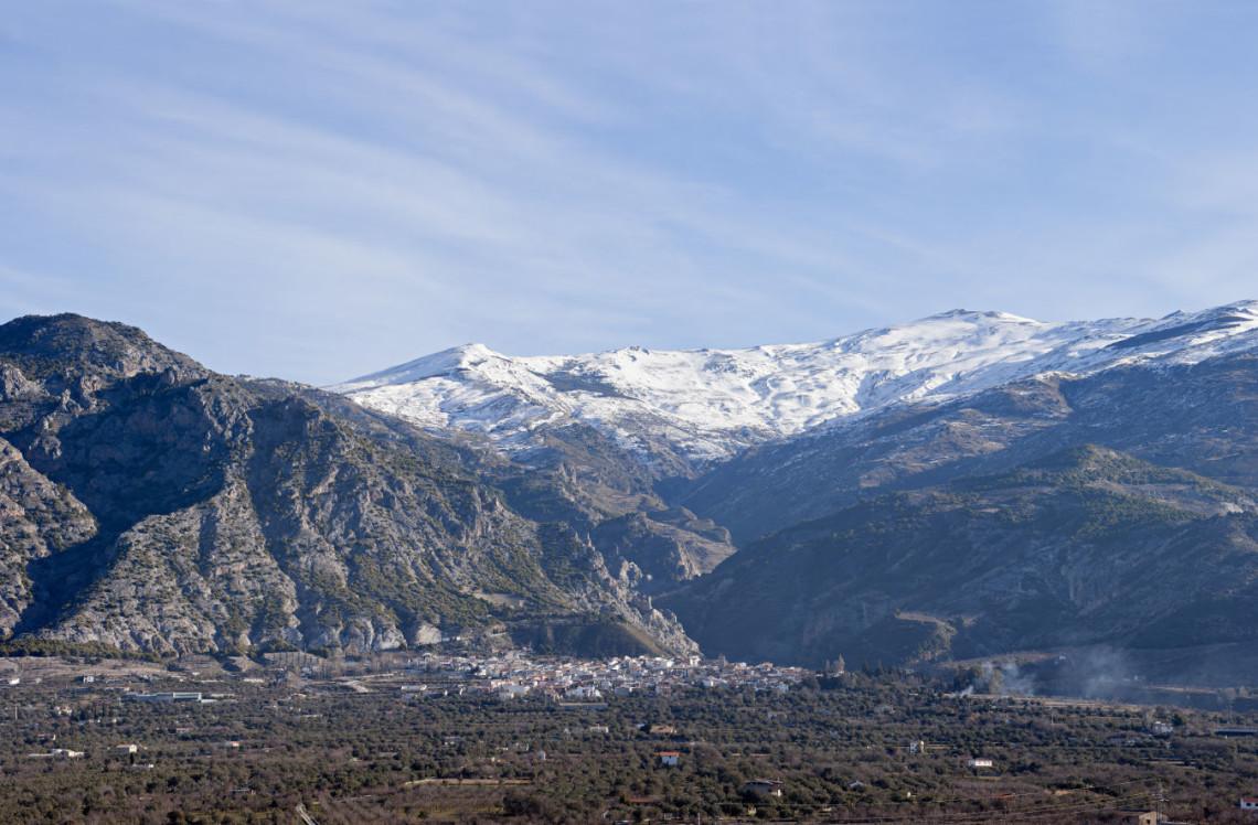 Nigüelas y el pico del Caballo, Sierra Nevada
