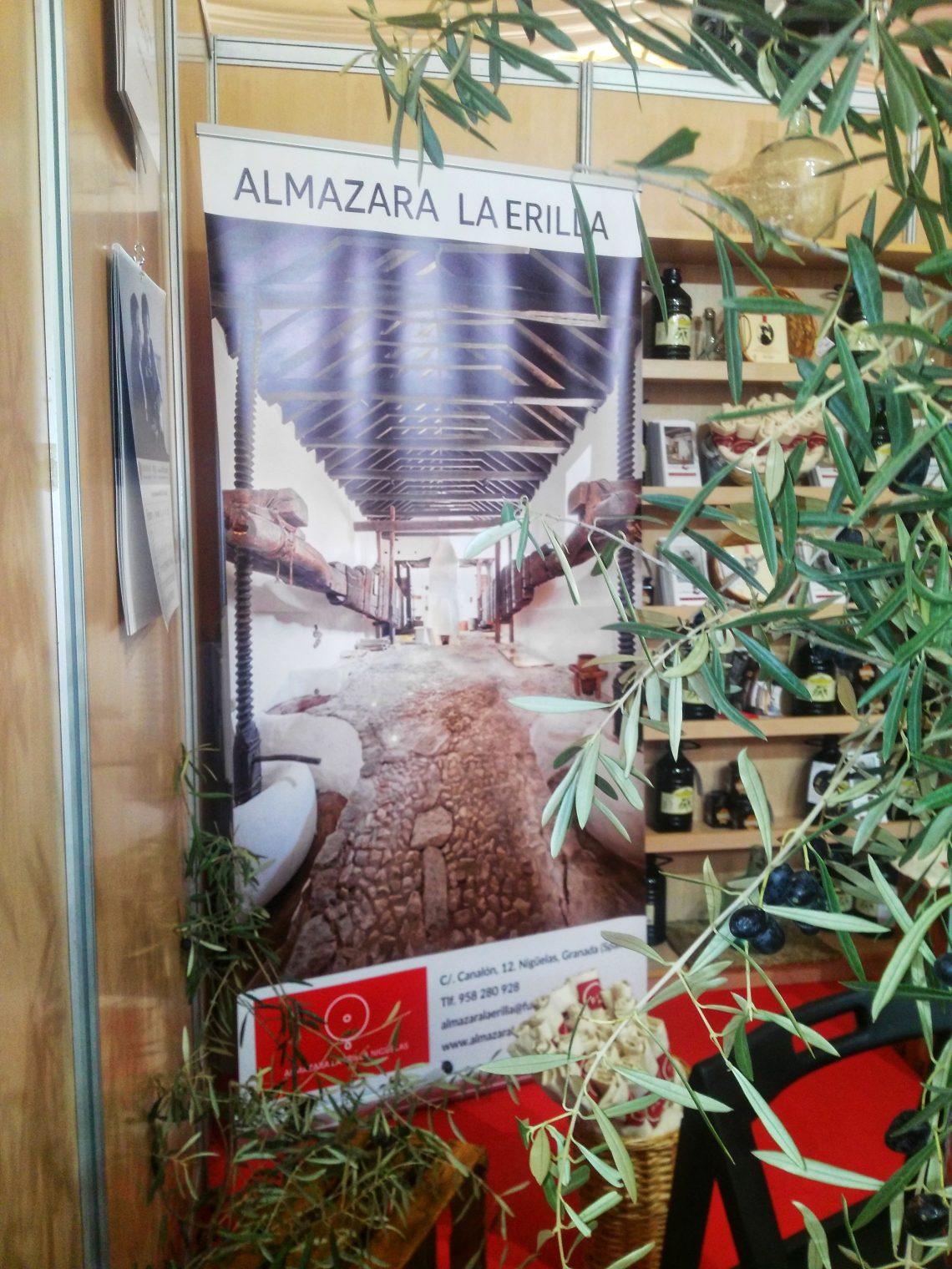 Stand de la Fundación Zayas en la Feria Agroalimentaria de Padul