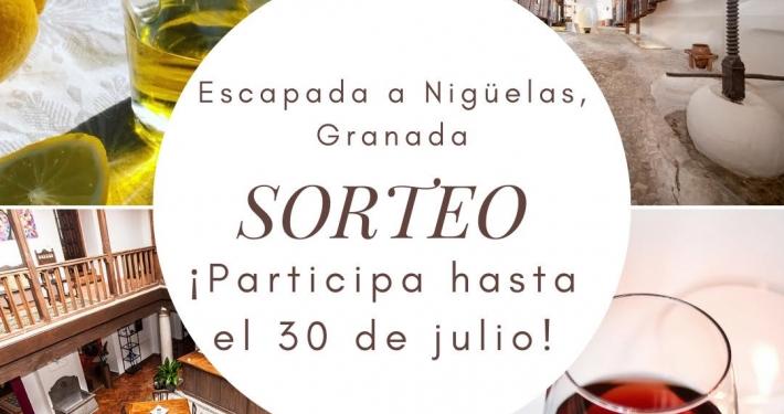 Sorteo Escapada a Nigüelas Granada